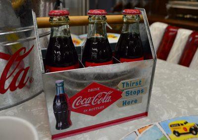 Coca Cola Memorabilia Detail