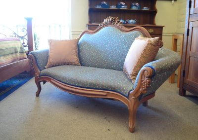 Antique Settee Blue