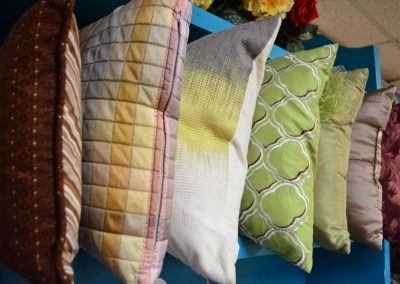 Selection of pillows