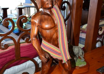 Wood Figure of Man