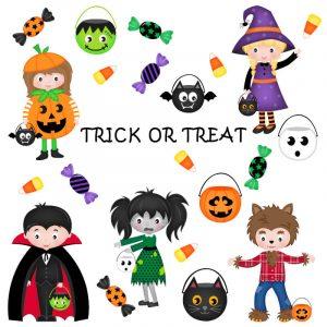 Halloween image Trick or Treat
