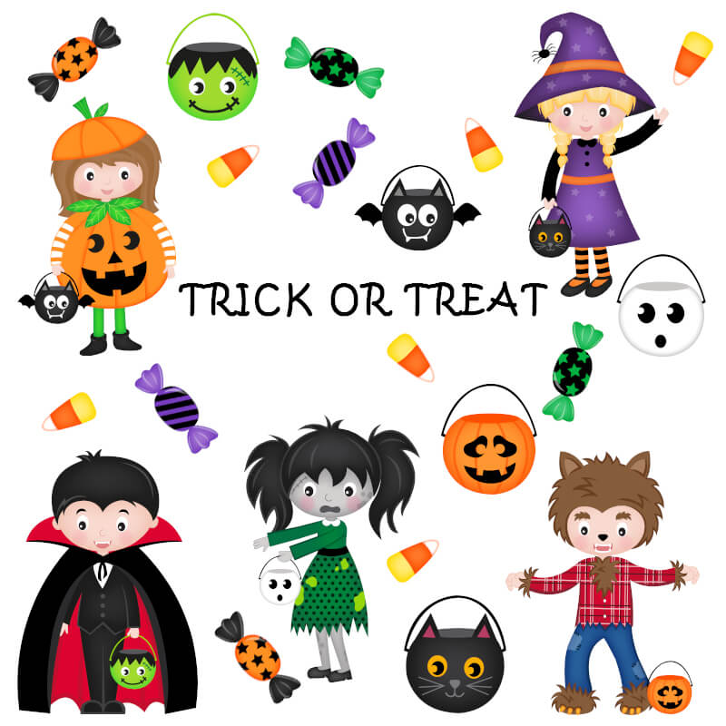 Halloween image Trick or Treat